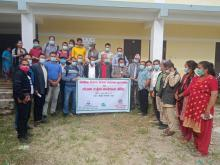 Group photo after the completion of workshop